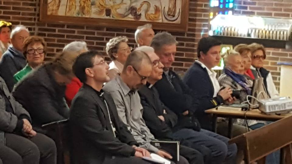 Mons. José Cobo en la II Vigilia diocesana por la comunión eclesial