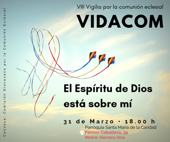Octava Vigilia Diocesana por la Comunión Eclesial